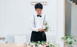 結婚式をしないふたりのためのフラワーフォトウェディング