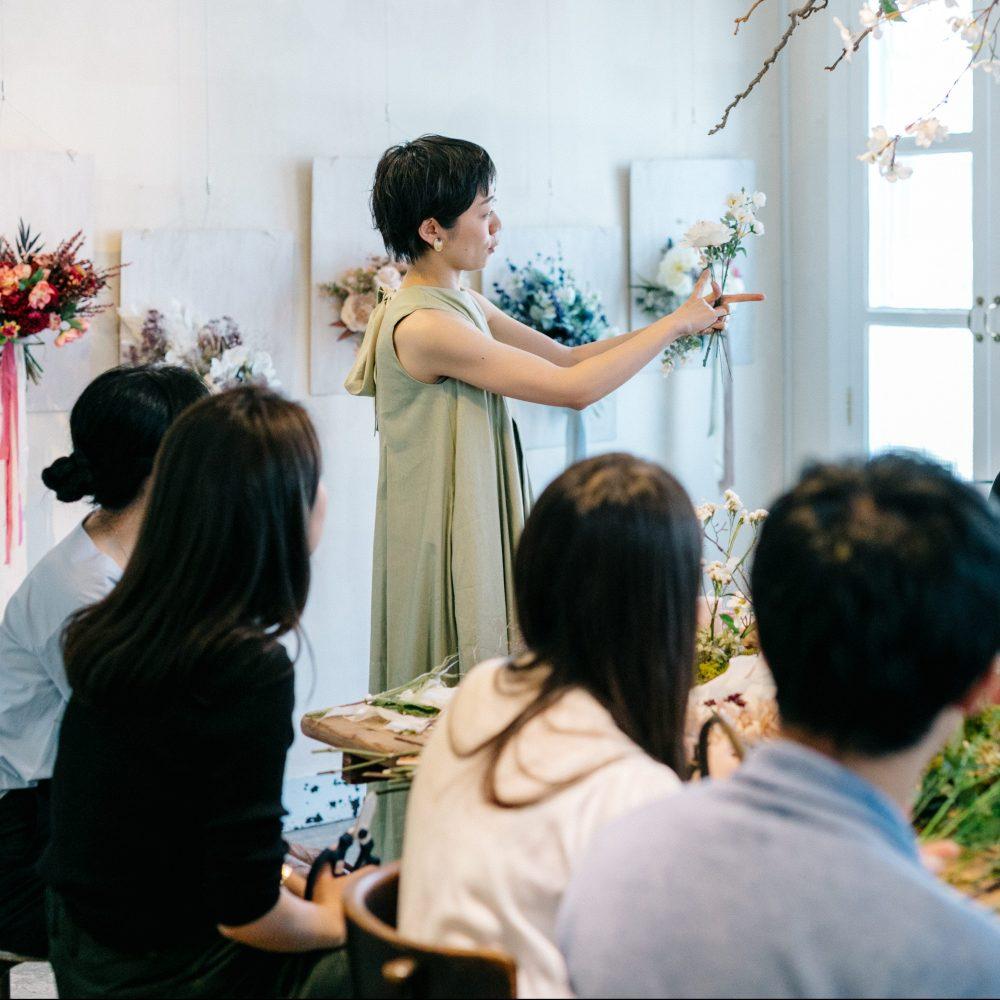 My Bouquet Work Shop 花がくれるふたりの想い出 Report.2